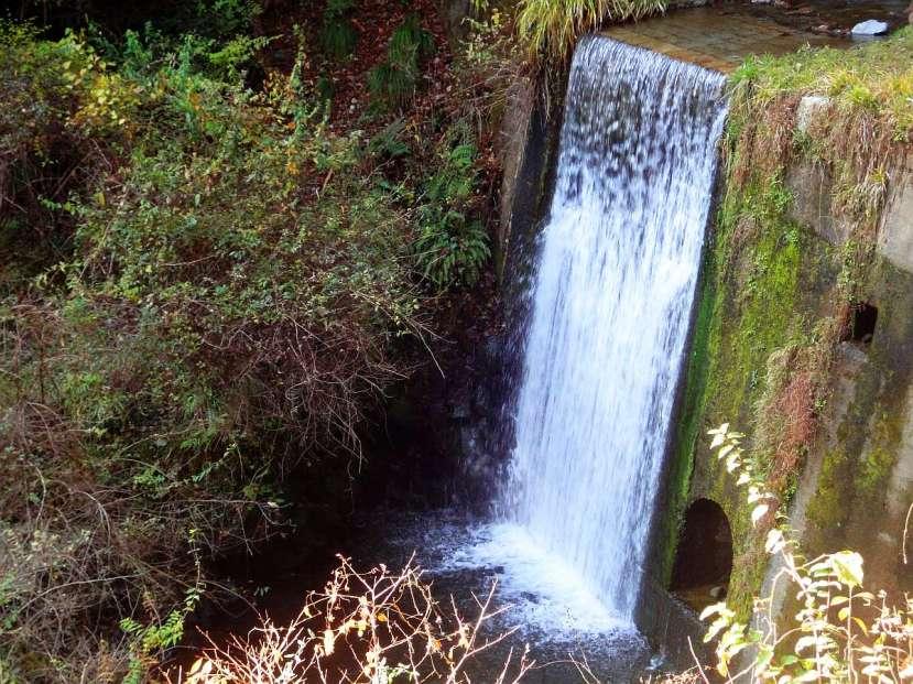 Kibune y Kurama cascada