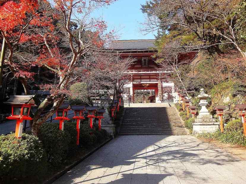 Kibune y Kurama - Complejo templos Kurama 1