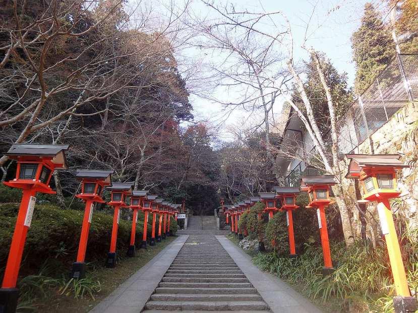 Kibune y Kurama - Complejo templos Kurama 2