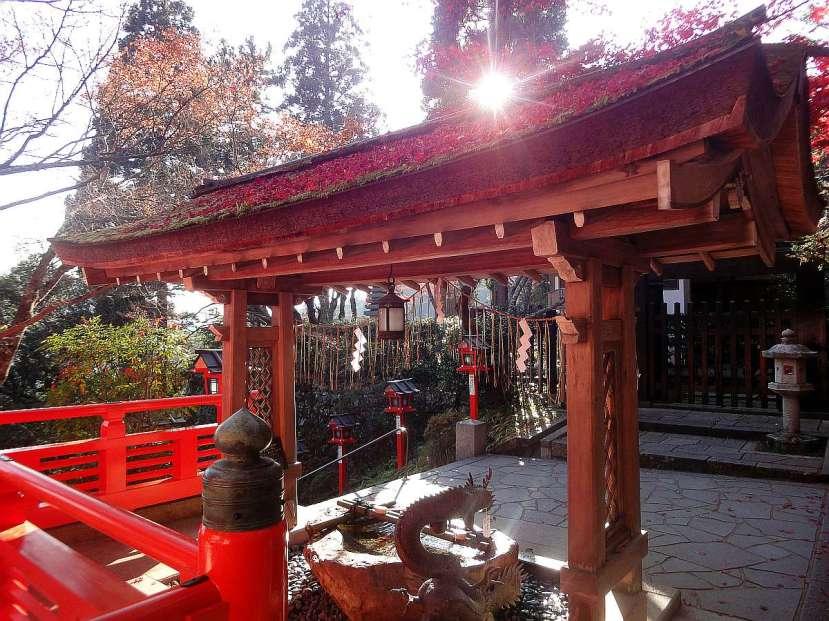 Kibune y Kurama - Precioso atardecer en el complejo de templos de Kurama