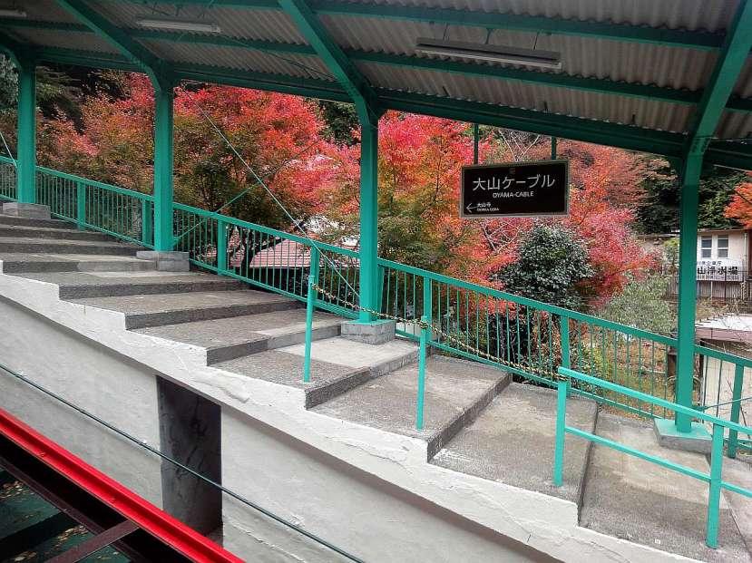 monte oyama funicular cablecar