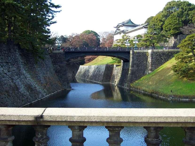 palacio imperial tokio entrada puente rio