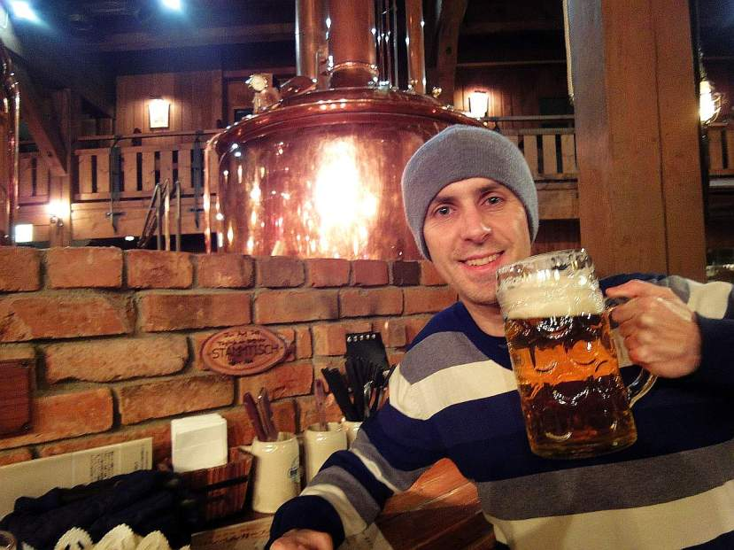otaru beer restaurante bavaro mass litro cerveza
