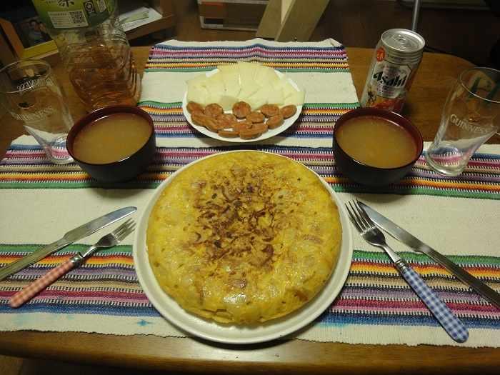 comida española japon