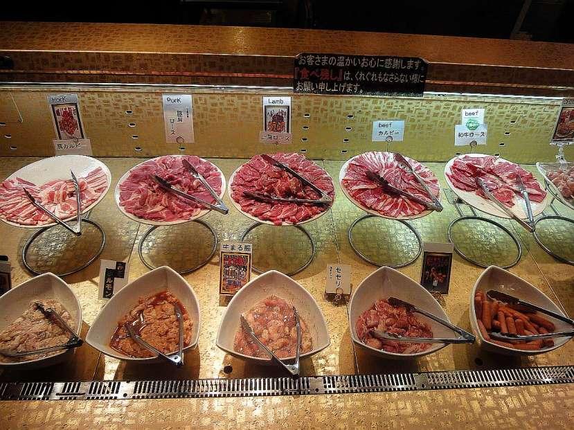 restaurante nanda buffet sapporo carne