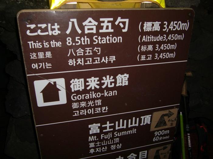 Subir al Monte Fuji. Octava estación y media.