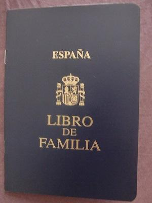 Libro de familia español