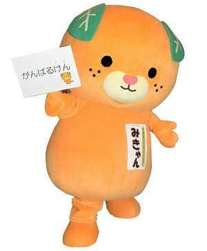 ehime yuru kyara mascota