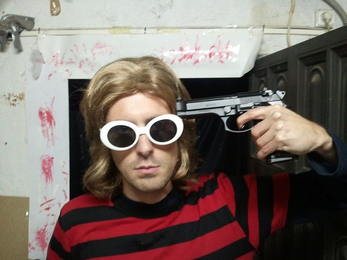 Kurt Cobain Halloween