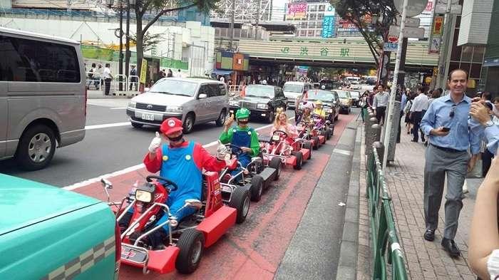 Super Mario Kart Shibuya