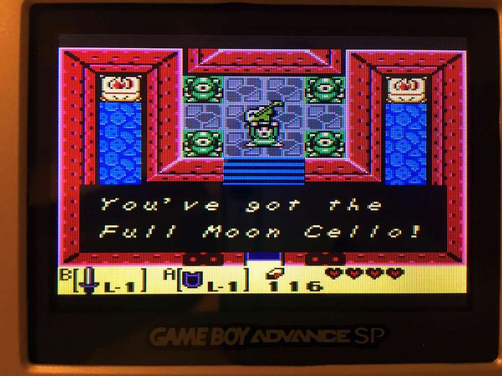 zelda link's awakening ingles full moon cello
