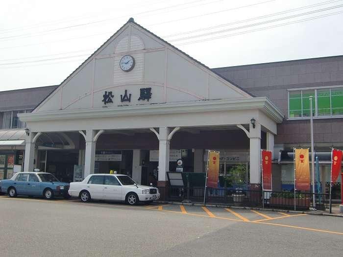 Estación Matsuyama JR
