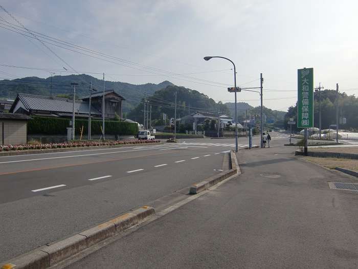 Imabari. Autobus hacia mirador. Parada Kameyama