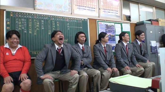 Waratte ha ikenai - Profesor de escuela entusiasta 24 horas