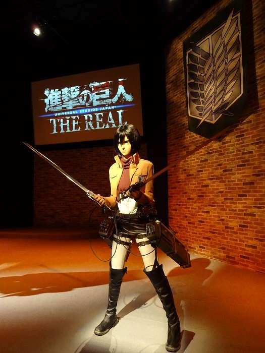Shingeki no Kyojin. Mikasa