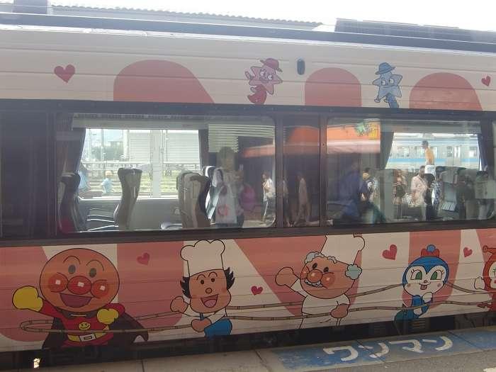 Estacion de Matsuyama. Tren Anpaman