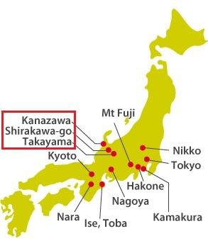Kanazawa, Takayama