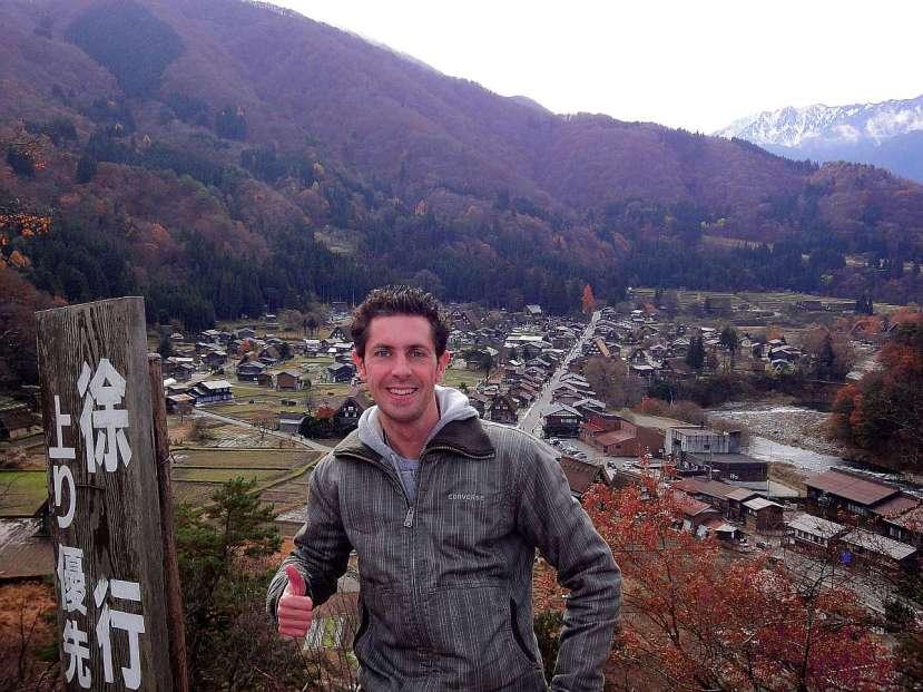 mirador panoramico shirakawago