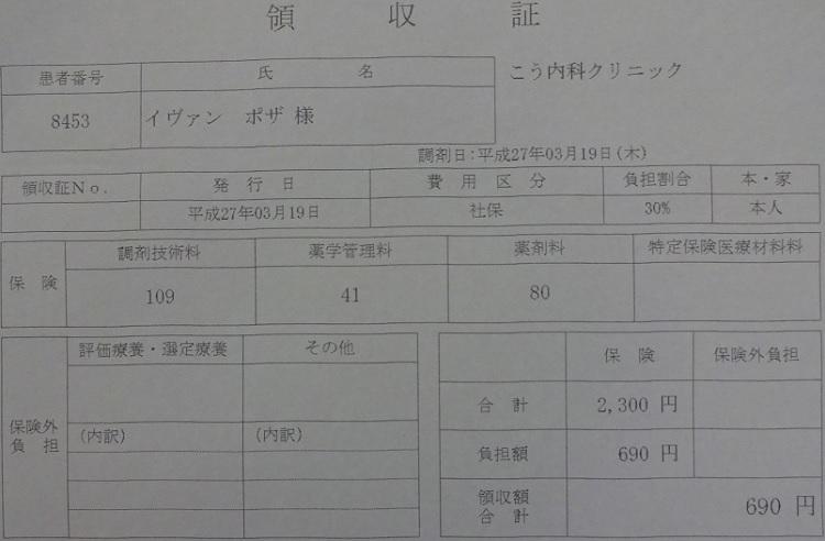 Farmacia Japon Recibo