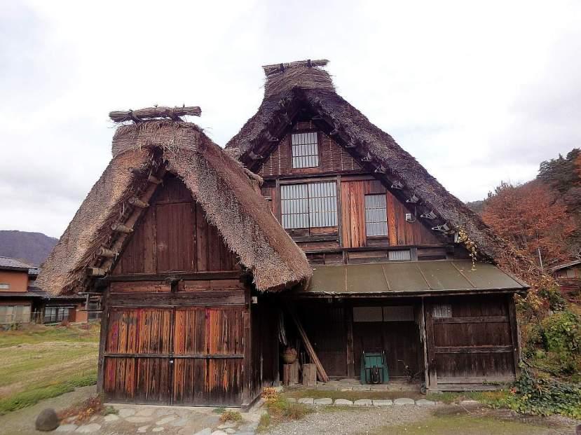 shirakawa minka casas arquitectura gasshou zukuri 12