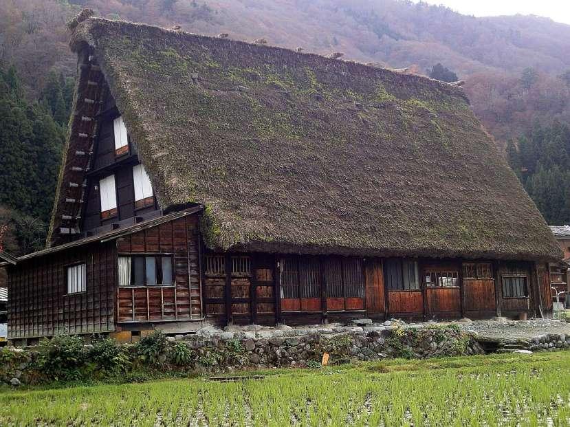 shirakawa minka casas arquitectura gasshou zukuri 2