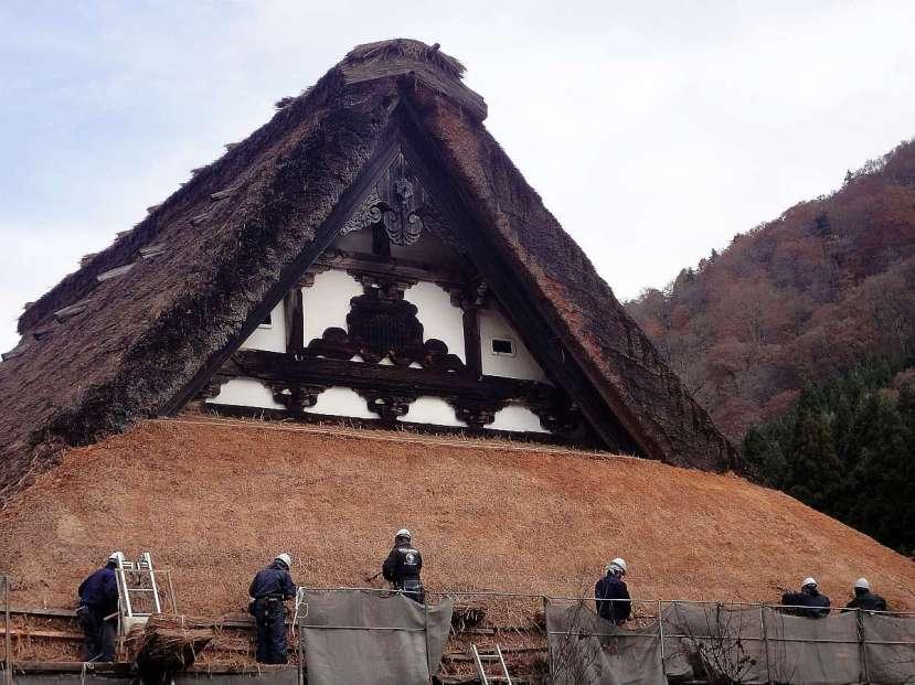 shirakawa minka casas arquitectura gasshou zukuri 3