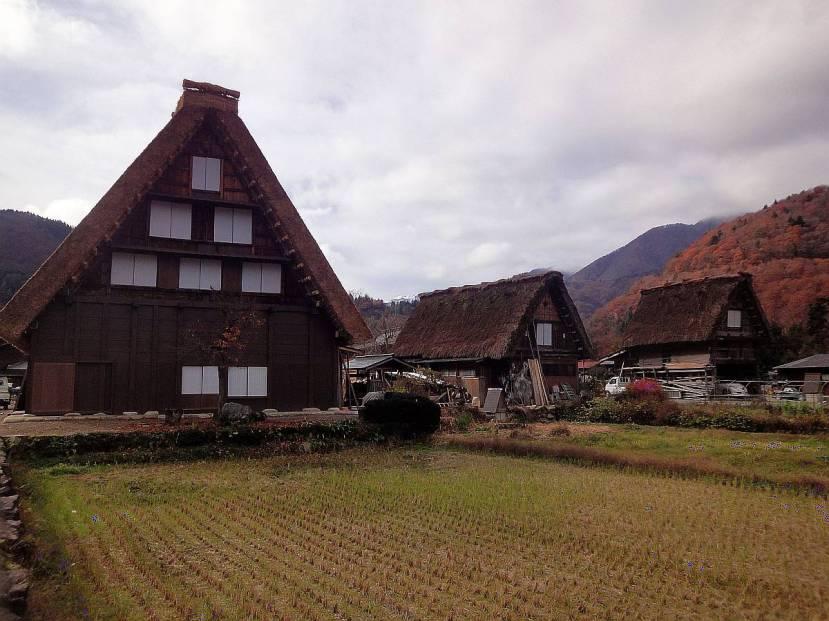 shirakawa minka casas arquitectura gasshou zukuri 4