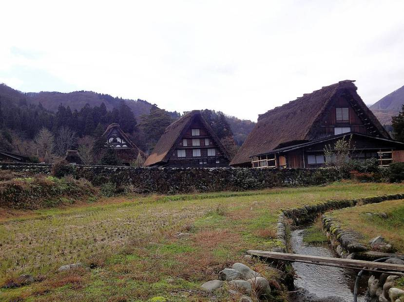 shirakawa minka casas arquitectura gasshou zukuri 6