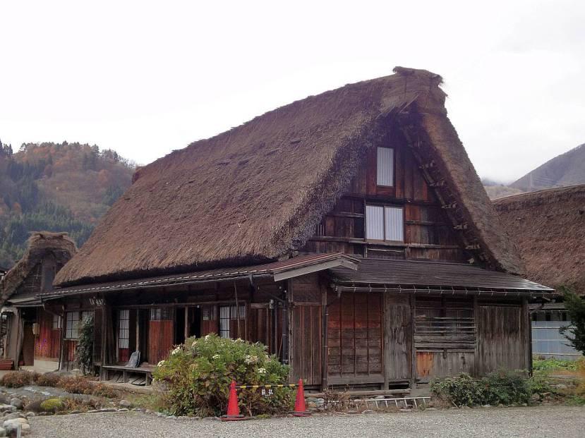 shirakawa minka casas arquitectura gasshou zukuri 7