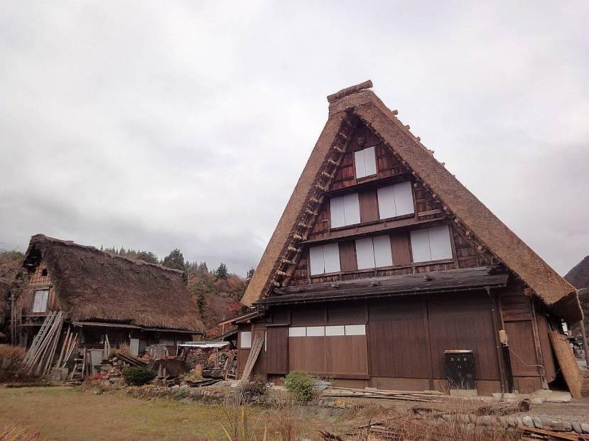 shirakawa minka casas arquitectura gasshou zukuri 9