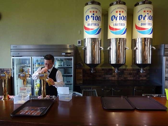 Bar Comedor Cerveza Orion Beer
