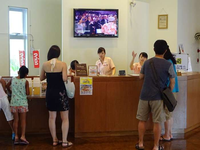 Recepcion Orion Beer Okinawa