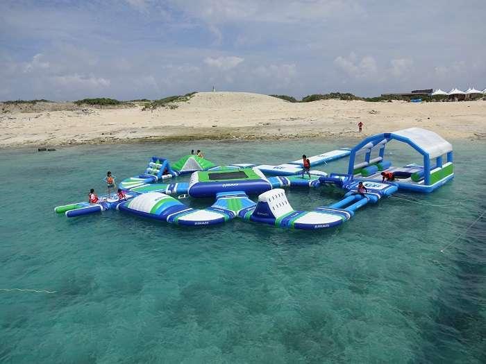 Aquapark isla Nagannu