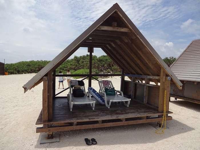 Playas Nagannu casetas