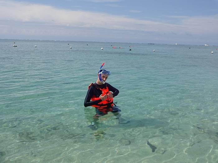 Playas Nagannu snorkel