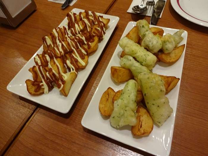 lizarran tokyo - patatas dos salsas