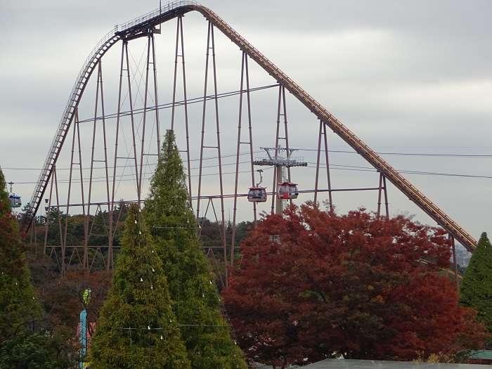 Yomiuriland Bandit rollercoaster