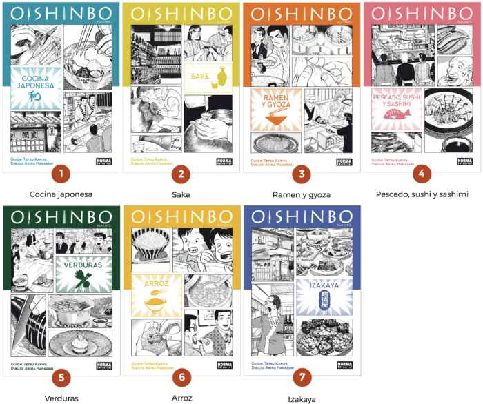 Comics Oishinbo low quality