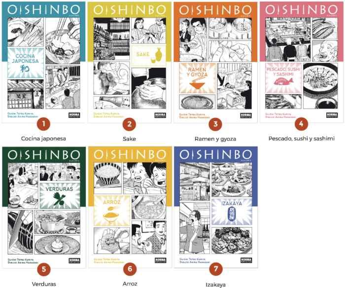 Comics Oishinbo low quality