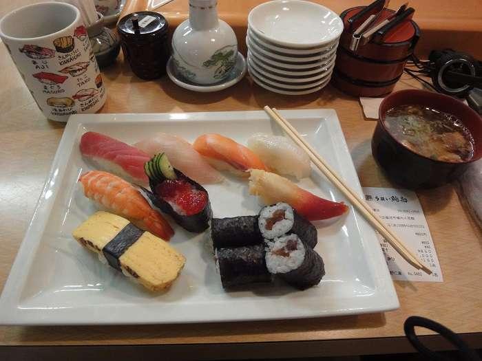 sushi moriawase en tsukiji