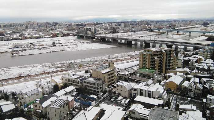 Vistas Rakuten Japon nevado 18 Enero 2016