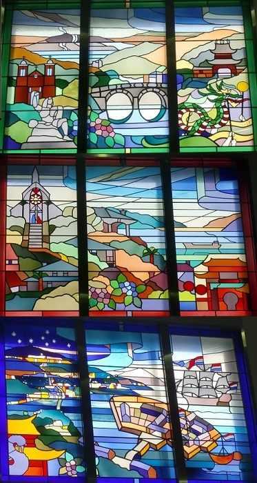vidriera nagasaki estacion retocada