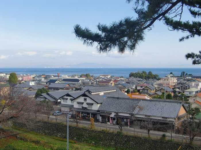 vistas castillo shimabara