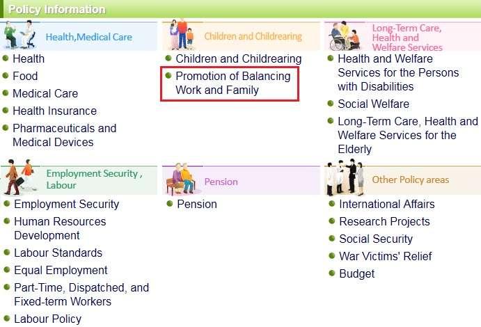 ministerio salud y trabajo japon balancing work family