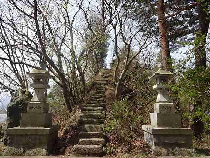 sendero kawaguchiko santuario
