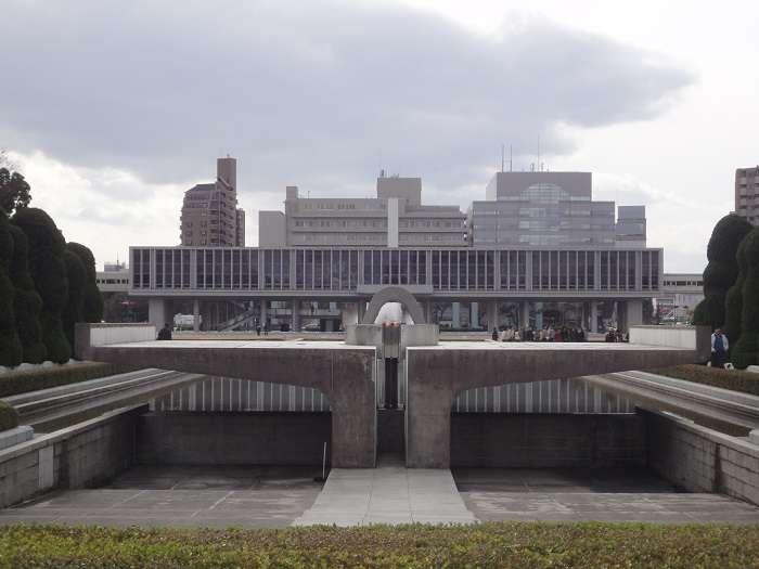 Hiroshima Cenotafio conmemorativo
