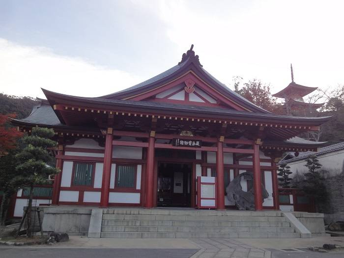Miyajima. Itsukushima shrine principal