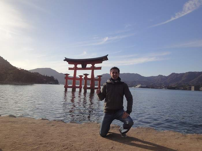 Miyajima torii Ivan