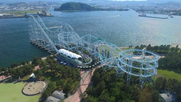 Surf Coaster Leviathan Sea Paradise