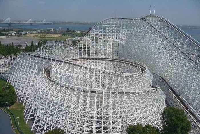 White Cyclone Nagashima Spa Land